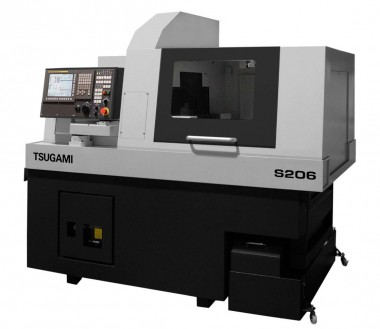 Precision Tsugami CNC Sliding Vending Machine 8 Axis Double Spindle